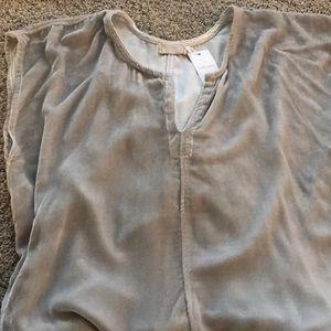 Other - Velvet tunic shirt